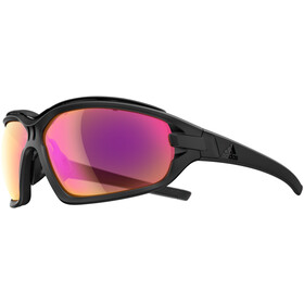 adidas Evil Eye Evo Pro Glasses L black matt/lst bright vario purple mirror